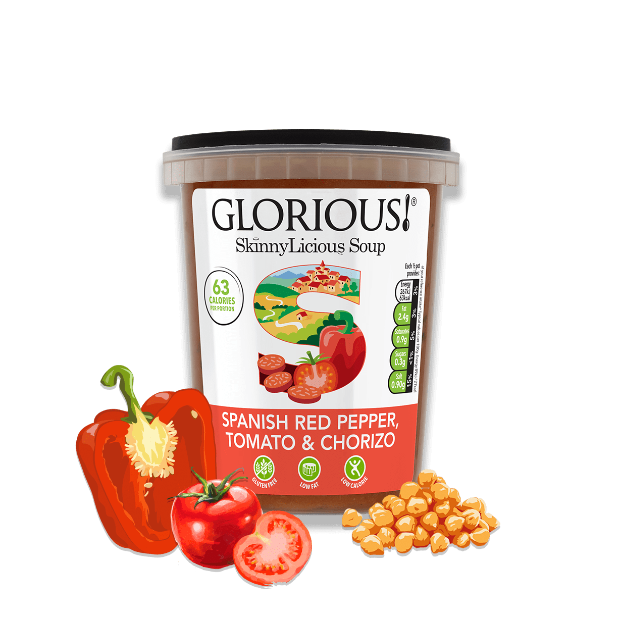 SkinnyLicious Healthy Soups by GLORIOUS!